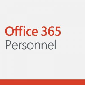 Logo de la suite de logiciels Office 365 personenl par Microsoft